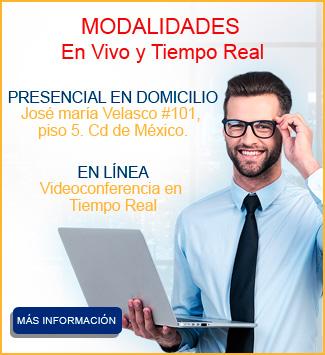 modalidades del curso especializacion en immex y certificacion iva