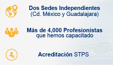sedes independientes mexico y guadalajara personal capacitado y acreditaciones stps